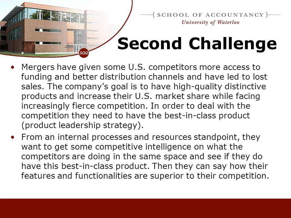 Third Challenge A significant customer segment is the application end-users such as small hospitals, clinics, and imaging centers.