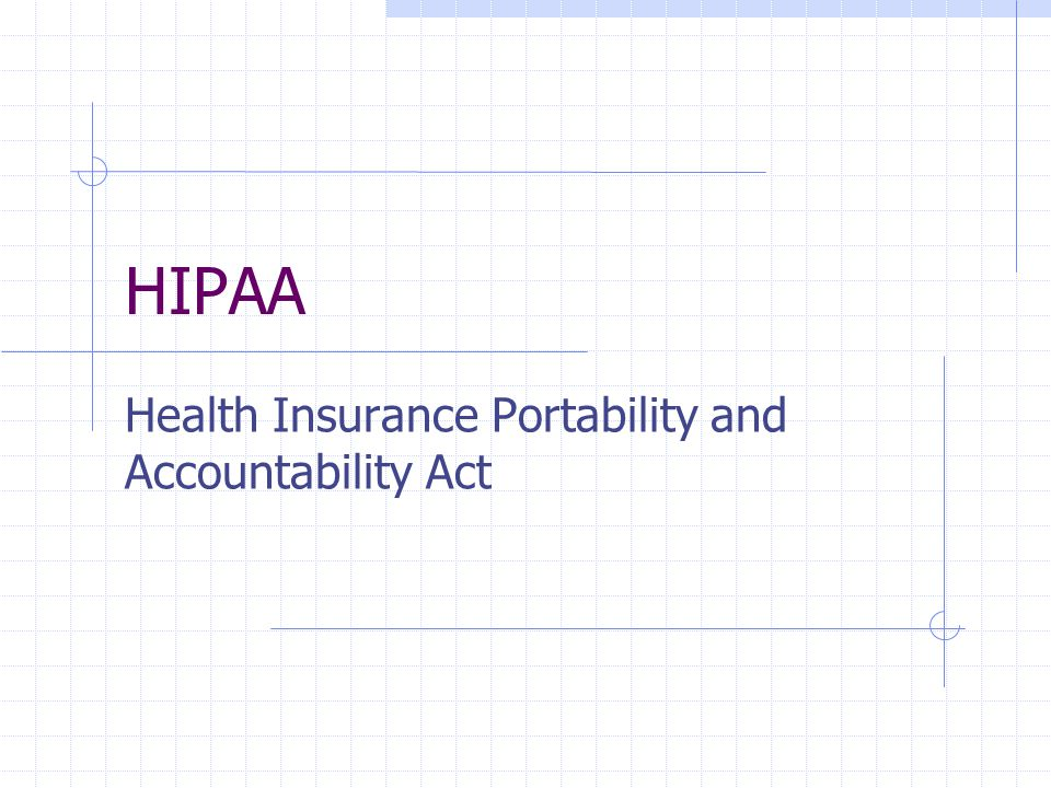 Privacy Standards – Uses and Disclosure Plan Sponsors (employers) need information for a variety of reasons: Need information to design, price and implement group health plan Need health information for other benefit plans Need health information for ADA, FMLA sick leave purposes May provide medical services to employees