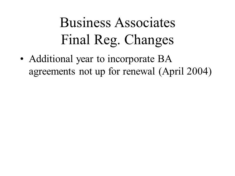 Business Associates Final Reg.