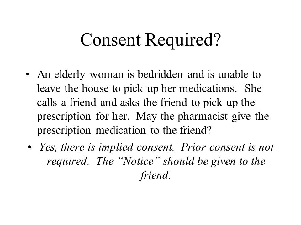 Consent Required.