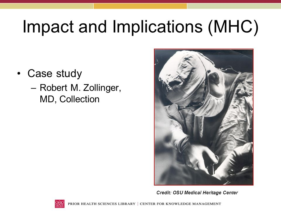 Impact and Implications (MHC) Case study –Robert M.