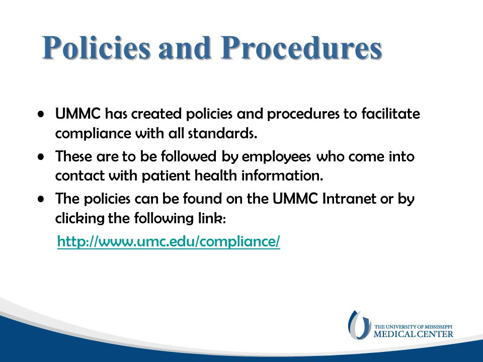 Disclosures/Releases with Authorizations Disclosures, other than those previously listed, can be made by UMMC only if the patient signs an authorization.