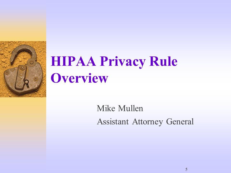 126 Enforcement Discretion  HIPAA is not discretionary.
