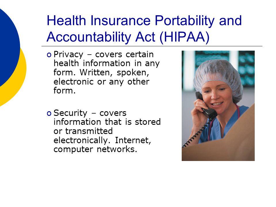 What is HIPAA.