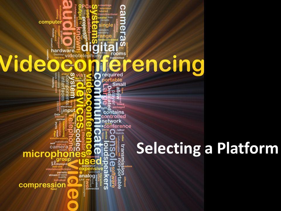 Selecting a Platform