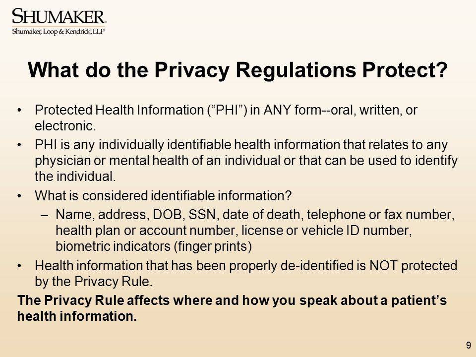 Important Changes that Require Updates to Notice of Privacy Practices The Omnibus Rule now requires for providers to include a patient's right to receive an electronic copy of their designated record set, as well as a patient's right to direct covered entities to transmit a copy of PHI to another person.