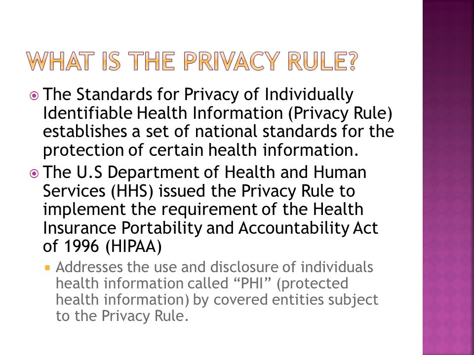  Covered entity may use/disclose PHI to carry out essential health care functions.