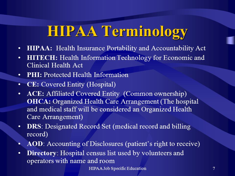 hipaa and information technology Gain insight into the impact of hipaa on it operations, including information on its requirements and penalties, with this faq.