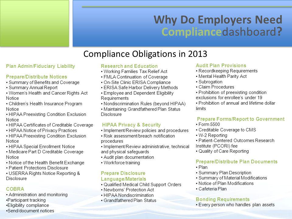 Why Do Employers Need Compliancedashboard .