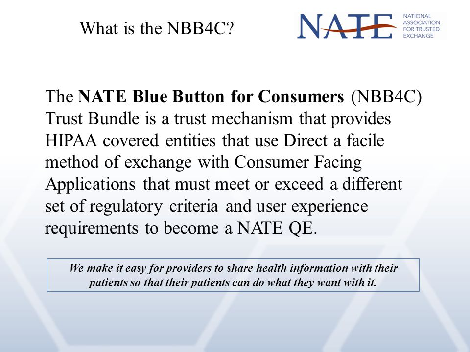 What is the NBB4C.