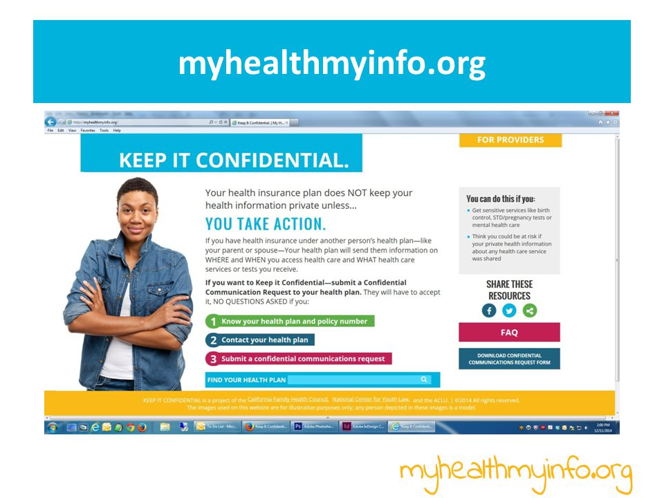 myhealthmyinfo.org