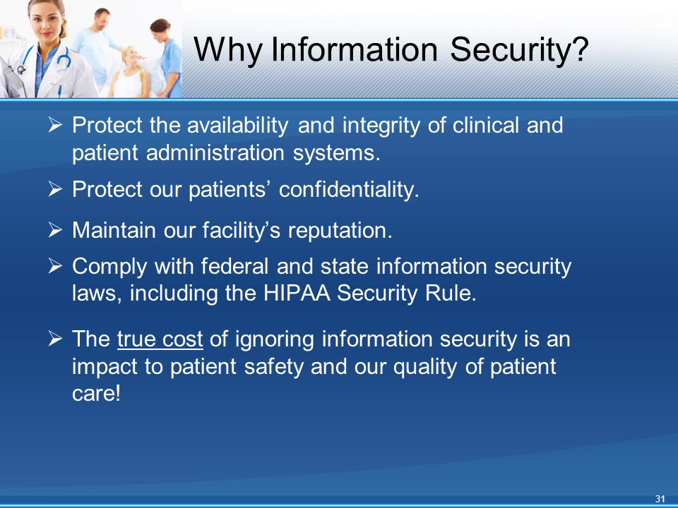 Why Information Security.