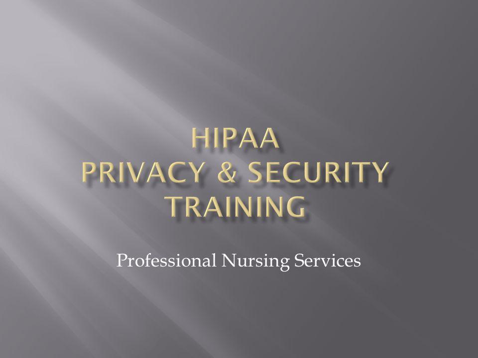 Professional Nursing Services