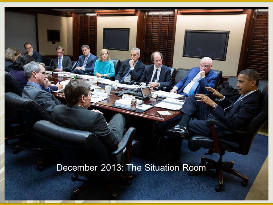 December 2013: The Situation Room