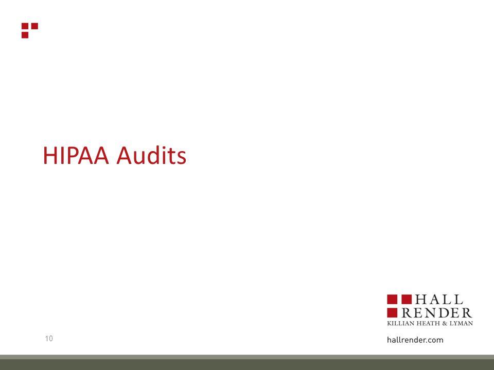 HIPAA Audits 10