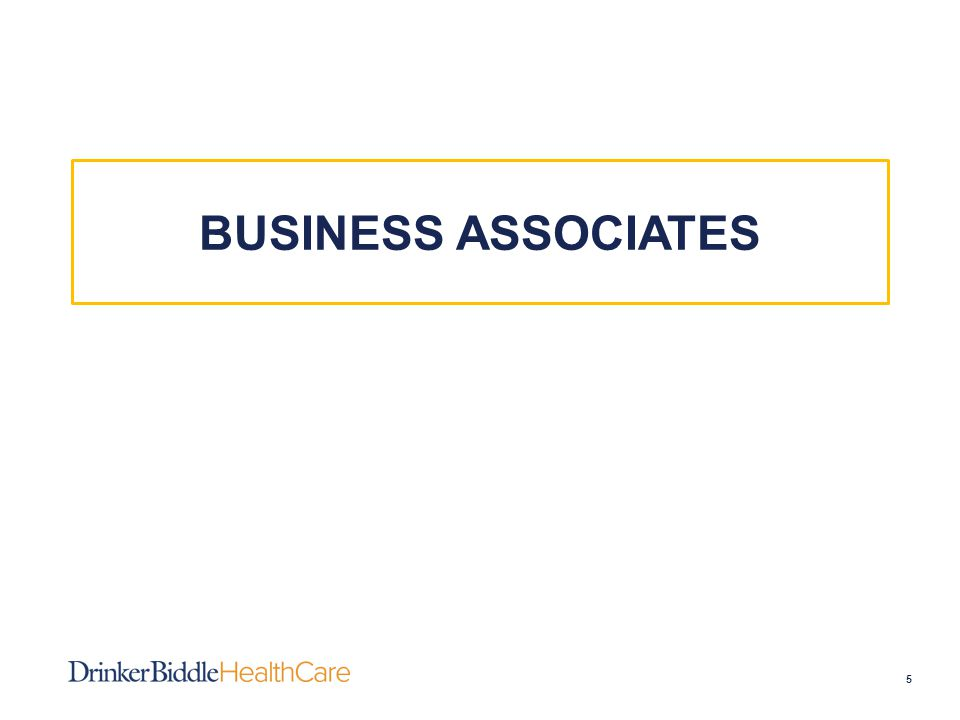 Business Associates (BAs) 6  The HIPAA Omnibus Final Rule made the following key changes to Business Associates: –Expands definition of BAs –Expands compliance obligations applicable to BAs –Explains scope of direct liability for violations applicable to BAs –Identifies required changes to BA agreements