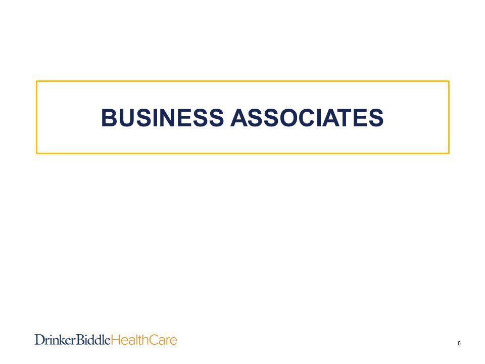 BUSINESS ASSOCIATES 5