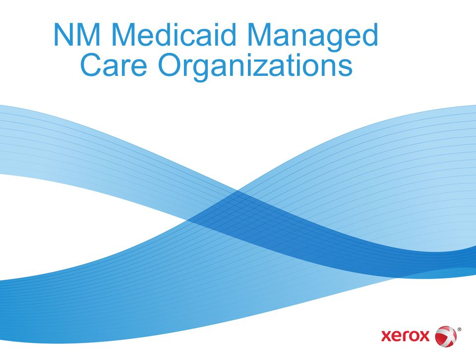 NM Medicaid Managed Care Organizations