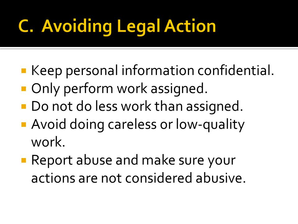 1. Abuse 2. Sexual abuse or sexual assault 3. Neglect 4. Financial exploitation 5. Emotional abuse
