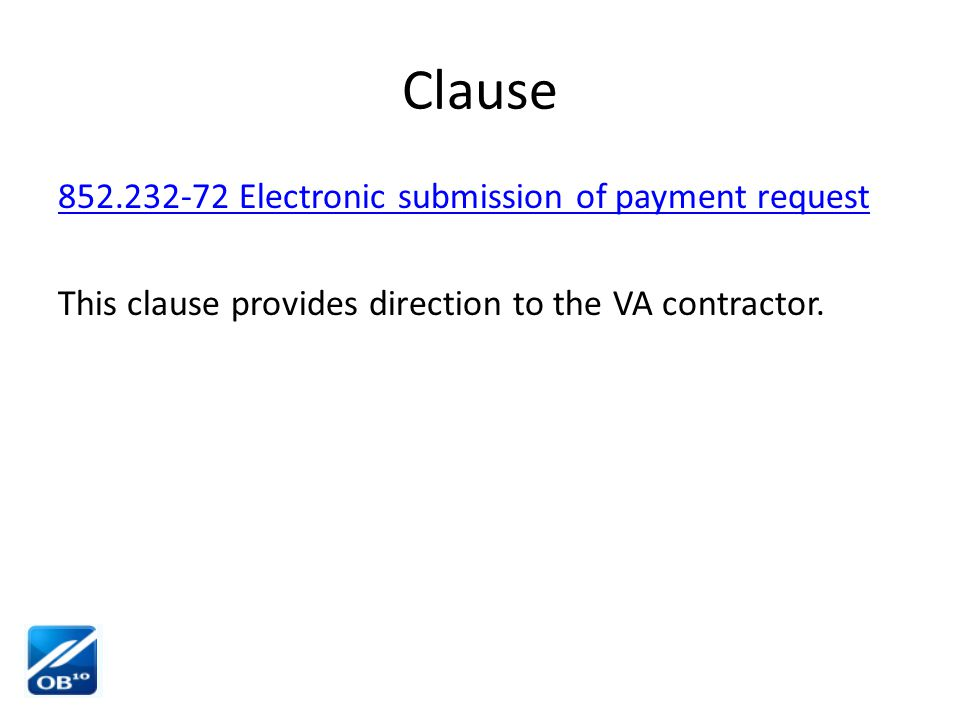 Exceptions Registering in OB10 is not required when using purchase cards or B#'s transactions (GPO i.e.