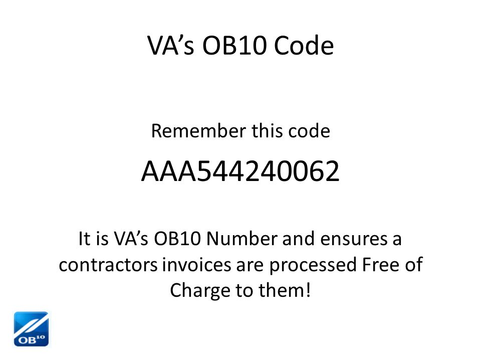 What an OB10 Invoice Looks Like Wrong or no PO # - - often a source of problems