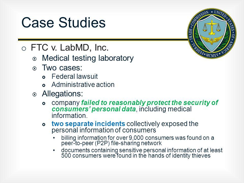 o FTC v. LabMD, Inc.