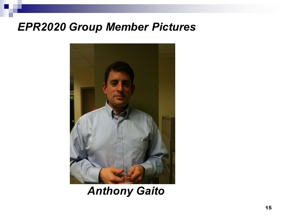 15 EPR2020 Group Member Pictures Anthony Gaito