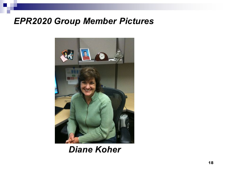 18 EPR2020 Group Member Pictures Diane Koher