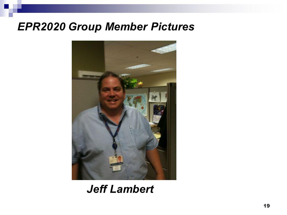 19 EPR2020 Group Member Pictures Jeff Lambert