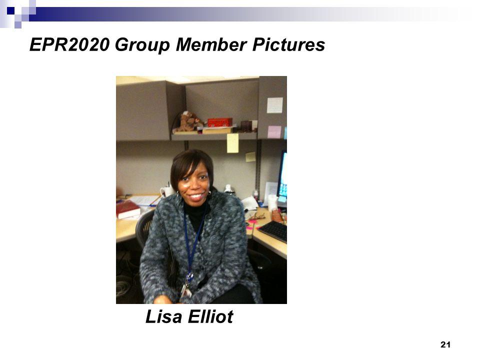 21 EPR2020 Group Member Pictures Lisa Elliot