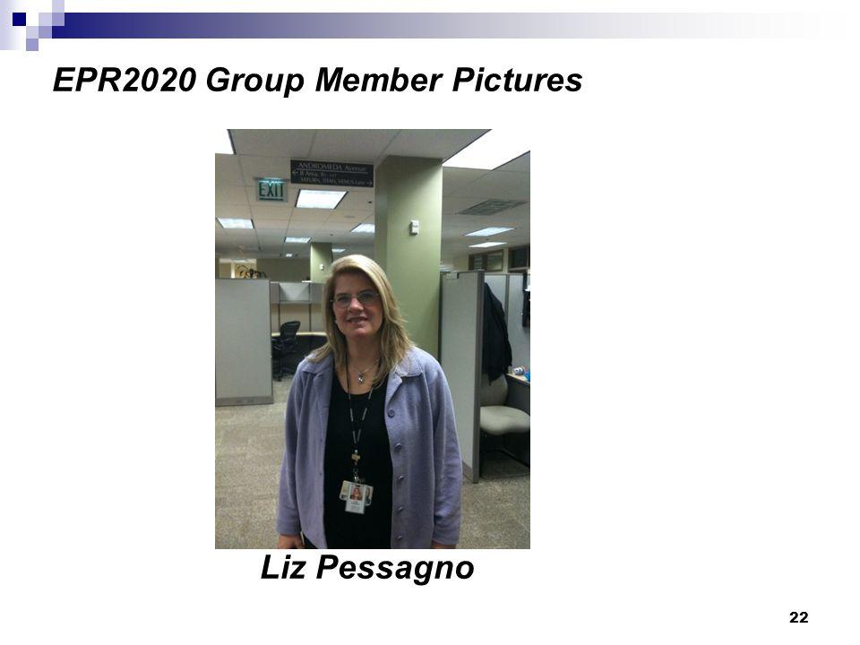 22 EPR2020 Group Member Pictures Liz Pessagno