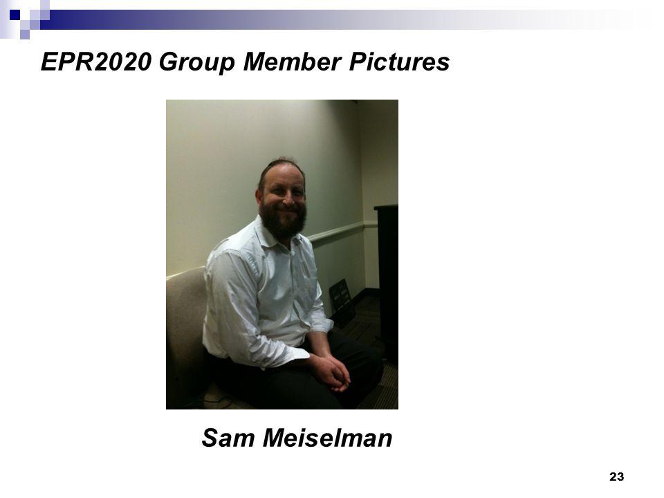 23 EPR2020 Group Member Pictures Sam Meiselman