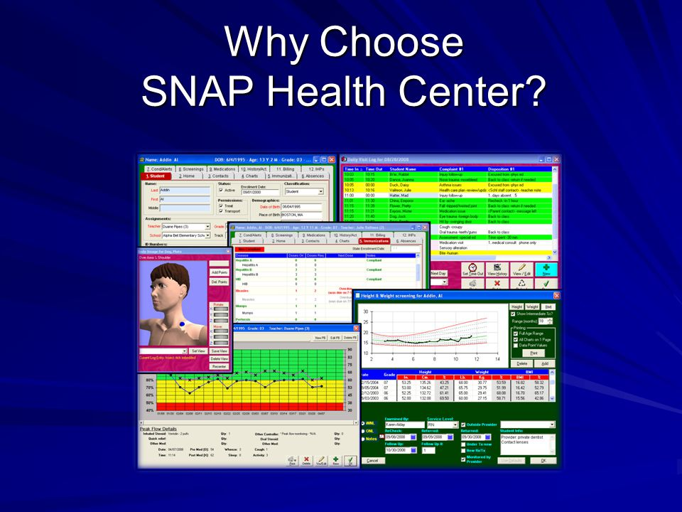 Why Choose SNAP Health Center?
