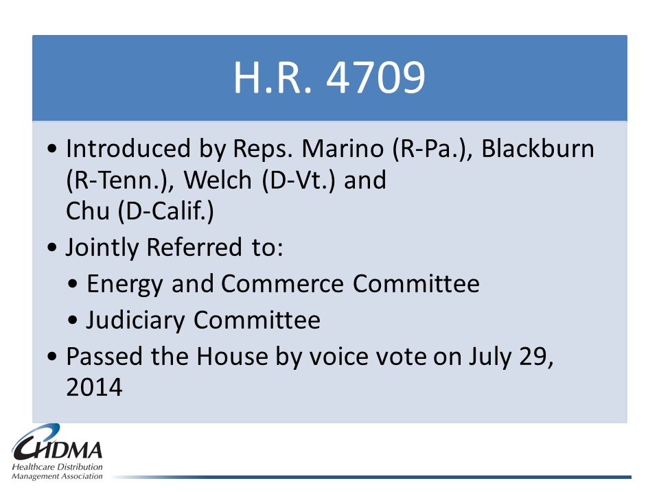 H.R. 4709 Introduced by Reps.