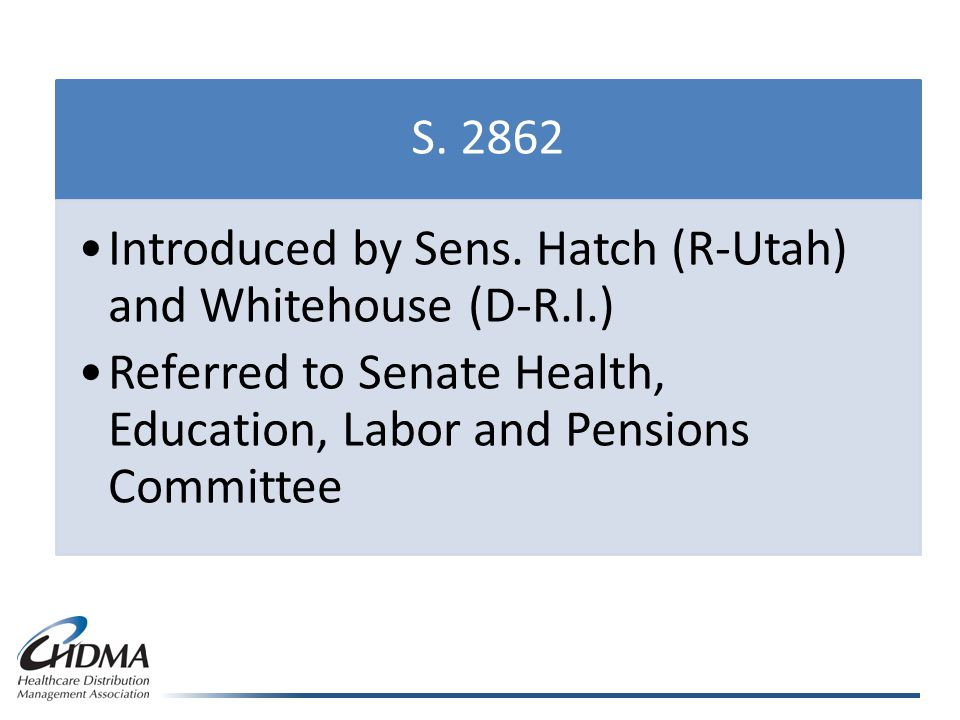 S. 2862 Introduced by Sens.