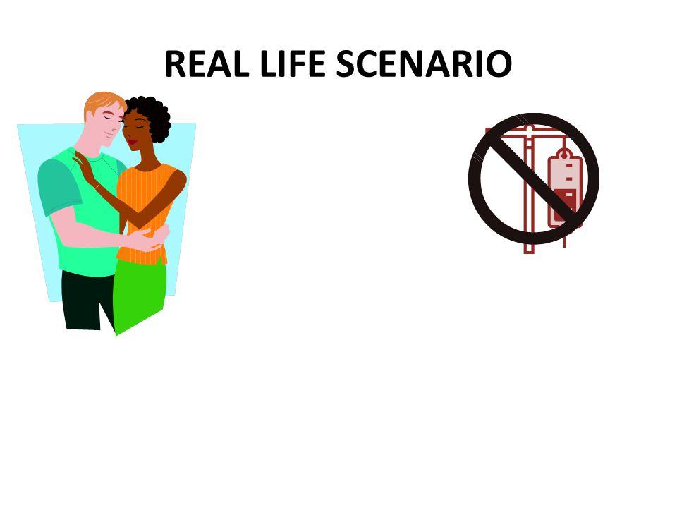 REAL LIFE SCENARIO
