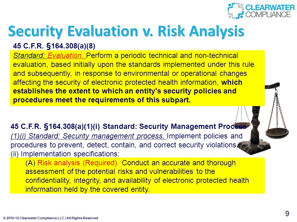 © 2010-12 Clearwater Compliance LLC | All Rights Reserved EP Meaningful Use - Core Eligible Professionals 15 Core Objectives 1.Computerized provider order entry (CPOE) 2.E-Prescribing (eRx) 3.Report ambulatory clinical quality measures to CMS/States 4.Implement one clinical decision support rule 5.Provide patients with an electronic copy of their health information, upon request 6.Provide clinical summaries for patients for each office visit 7.Drug-drug and drug-allergy interaction checks 8.Record demographics 9.Maintain an up-to-date problem list of current and active diagnoses 10.Maintain active medication list 11.Maintain active medication allergy list 12.Record and chart changes in vital signs 13.Record smoking status for patients 13 years or older 14.Capability to exchange key clinical information among providers of care and patient-authorized entities electronically 15.Protect electronic health information