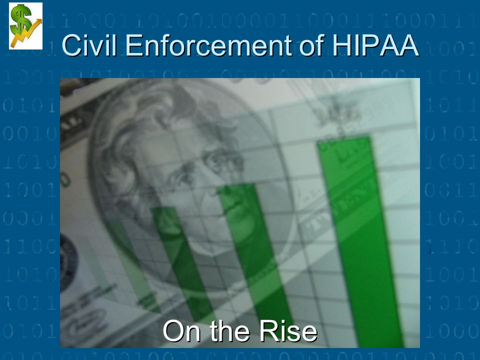 Civil Enforcement of HIPAA On the Rise