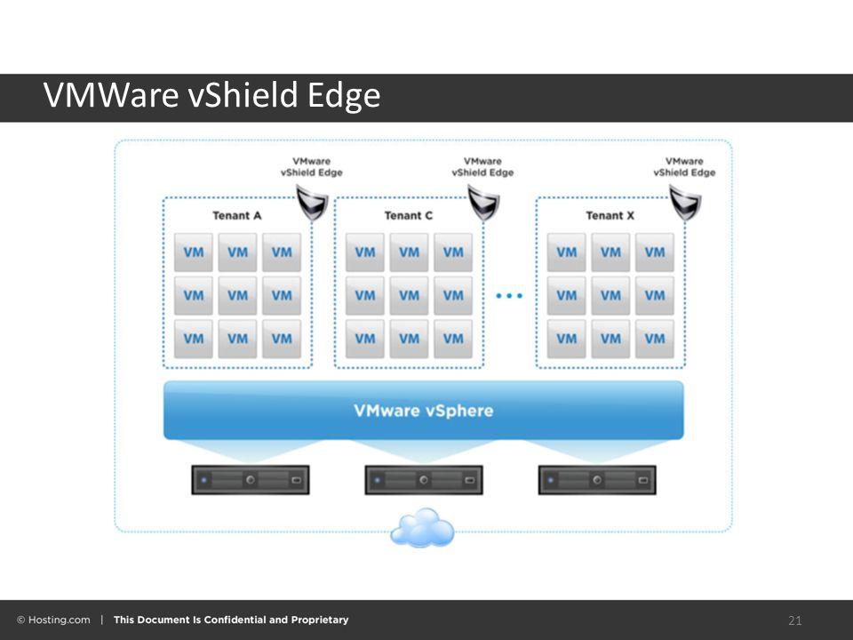 VMWare vShield Edge 21