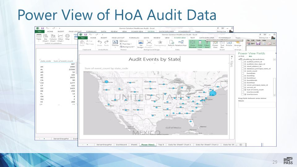 29 Power View of HoA Audit Data