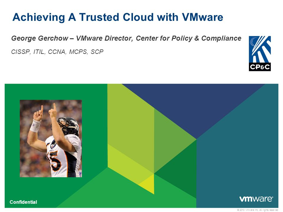 42 Confidential Where Does VMware Fit.