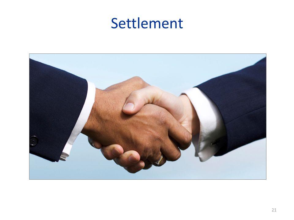 Settlement 21