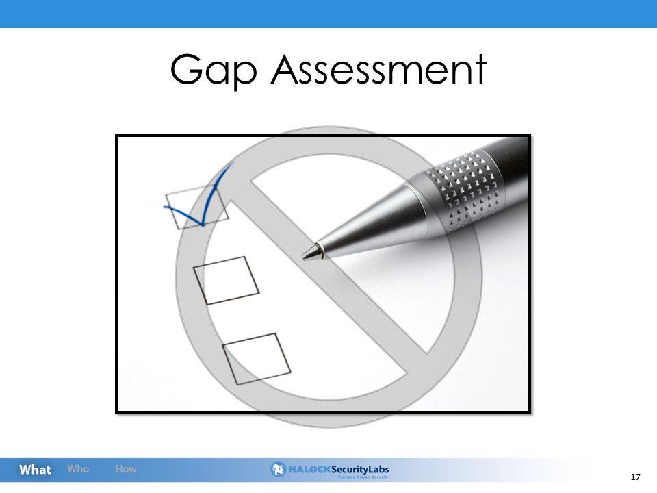 17 Gap Assessment