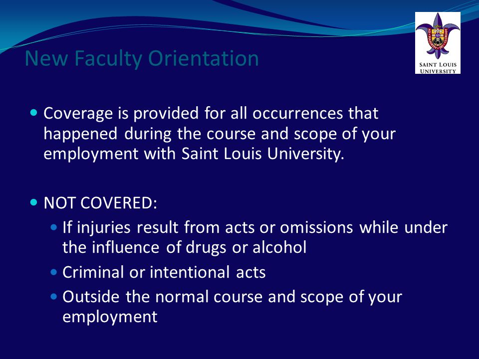 The Saint Louis University Office of University Compliance is committed to excellence in corporate integrity and responsibility.