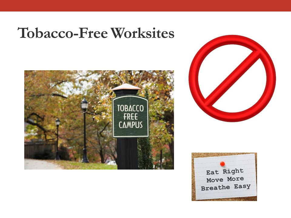 Tobacco-Free Worksites