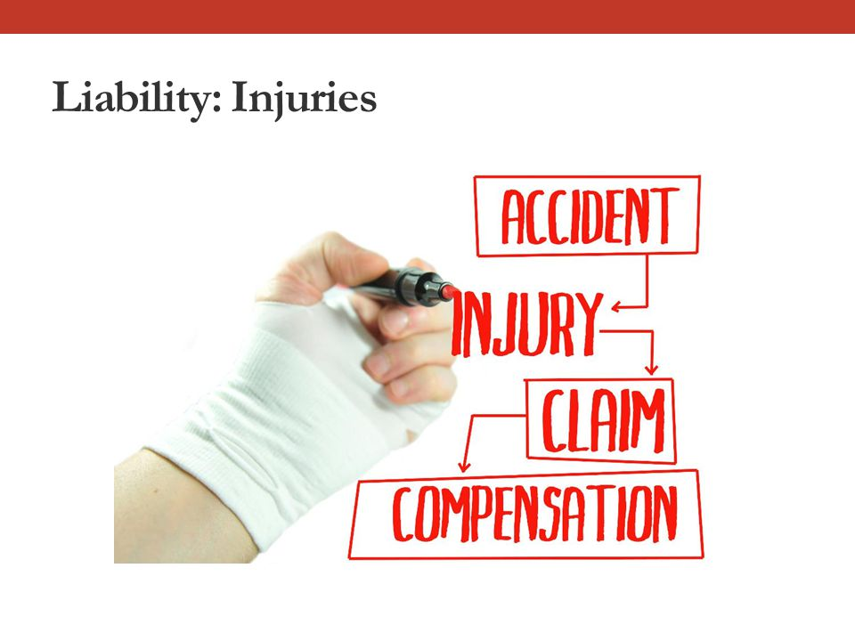 Liability: Injuries