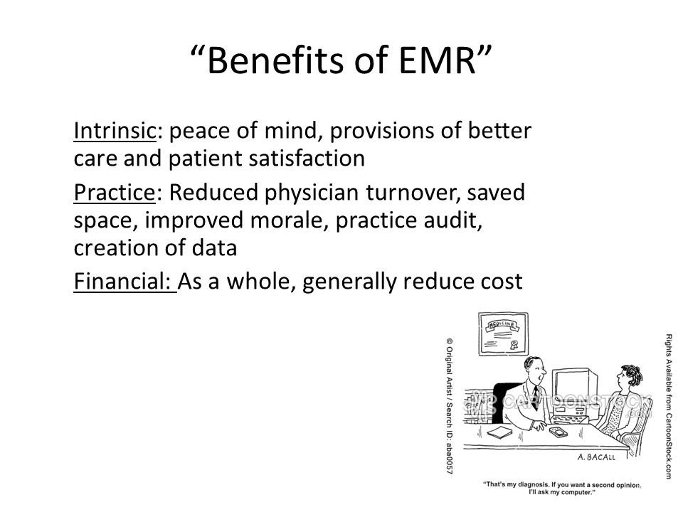 MC Which of the answers below is NOT a trigger from the conceptual model of implementing EMR.