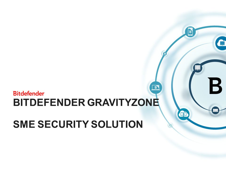 A resource-efficient security solution Simultaneously provides high performance and protection Delivering centralized management Easy deployment Freedom to choose any combination of: Virtualization vendors Cloud providers Physical devices, virtual platforms and virtual machines 2 GRAVITY ZONE IS