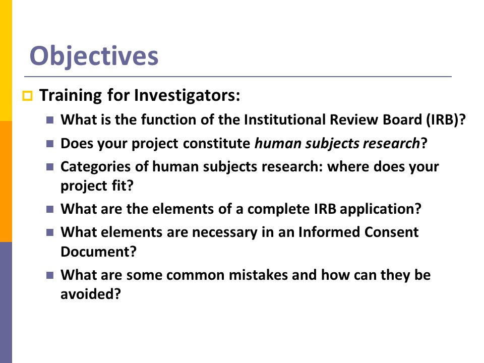 Confidentiality  Describe how you will protect individual privacy and confidentiality of data  Describe how information will be stored, and how and when study records will be destroyed  Investigators must retain consent documents and research records for at least 3 years after the completion of research activity  Describe how anonymity will be maintained in published format