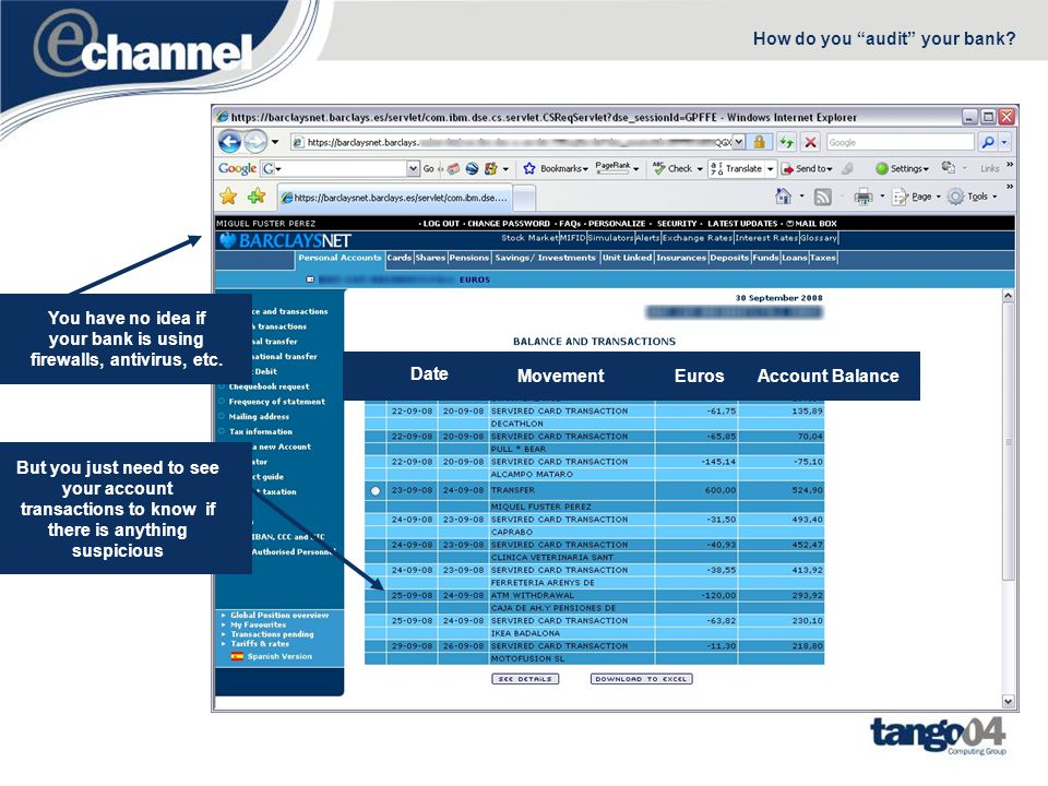 Data Journal PrimarySecondary OS/400 Remote Journal Data Monitor Audit File New Tango/04 Data Monitor Near-zero impact on system performance –Reusing your existing journals for data auditing in iSeries –Remote journal support The Data Monitor repository can be located at the Primary System or at the backup LPAR IBM i OS